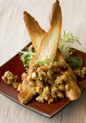 Chef Noah�s Eggplant Caponata with Golden Raisins