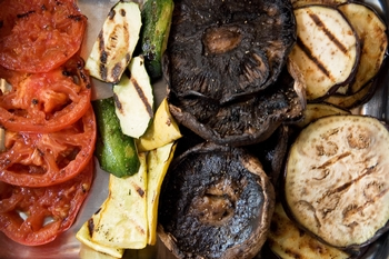 Scrumptious Grilled Vegetable Platter